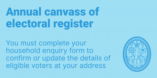 Annual canvass of the electoral register