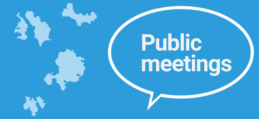 Scilly council public meetings - spring 2017