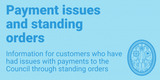 Payment issues and standing orders