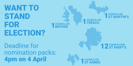 Want to stand for election on Scilly?
