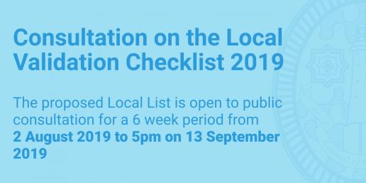 Local validation checklist consultation