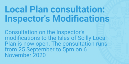 Local Plan Consultation: Inspector's Modifications