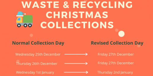 Revised Christmas waste collection times - Scilly