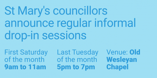 Informal councillor drop in sessions