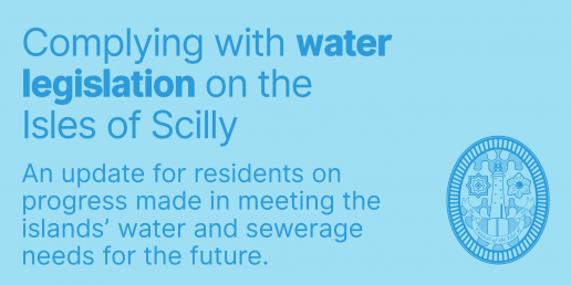 Complying with water legislation on the Isles of Scilly