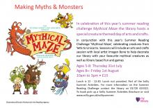 Myths And Monsters Poster